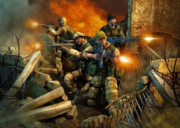 لعبة حرب العراق عاصفة الصحراء