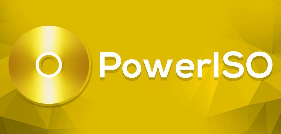برنامج power iso للكمبيوتر
