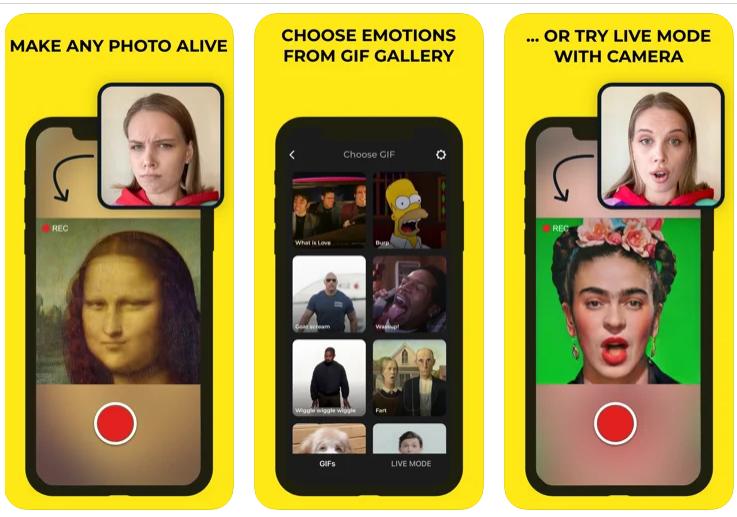 تطبيق avatarify للاندرويد