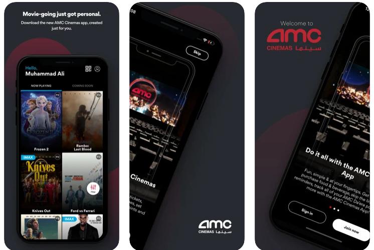 تحميل تطبيق amc سينما الجديد للايفون 2021 مجانا